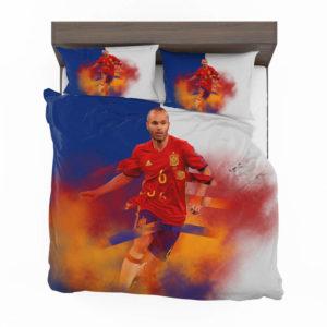 Andres Iniesta Fc Barcelona Bedding Set