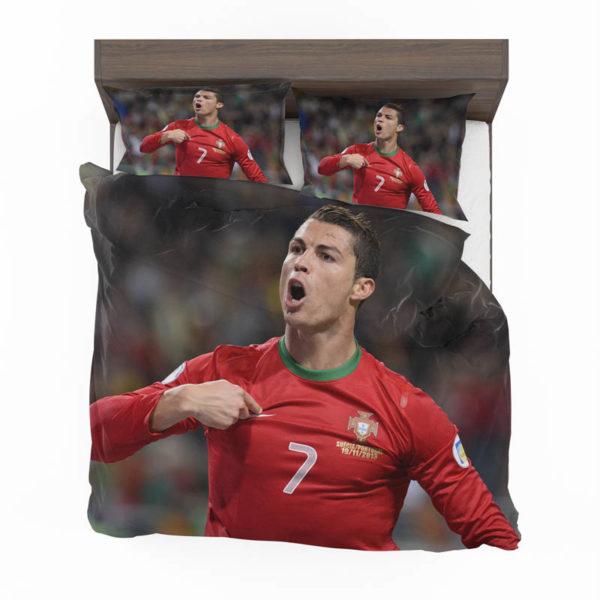 Christiano Ronaldo Bedding Set 3