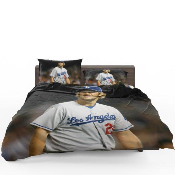 Clayton Kershaw Baseball Pitcher Los Angeles Dodgers Bedding Set1