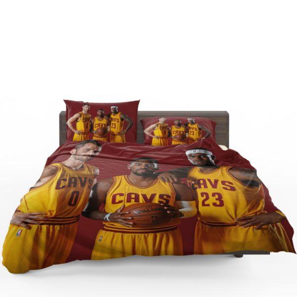 Cleveland Cavaliers Kyrie Irving Kevin Love Lebron James Bedding Sets1