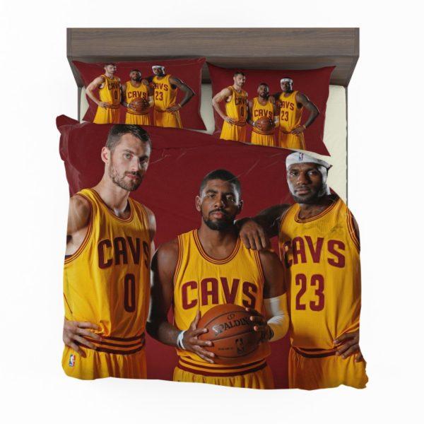 Cleveland Cavaliers Kyrie Irving Kevin Love Lebron James Bedding Sets