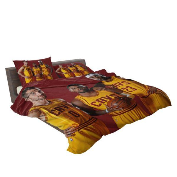 Cleveland Cavaliers Kyrie Irving Kevin Love Lebron James Bedding Sets3