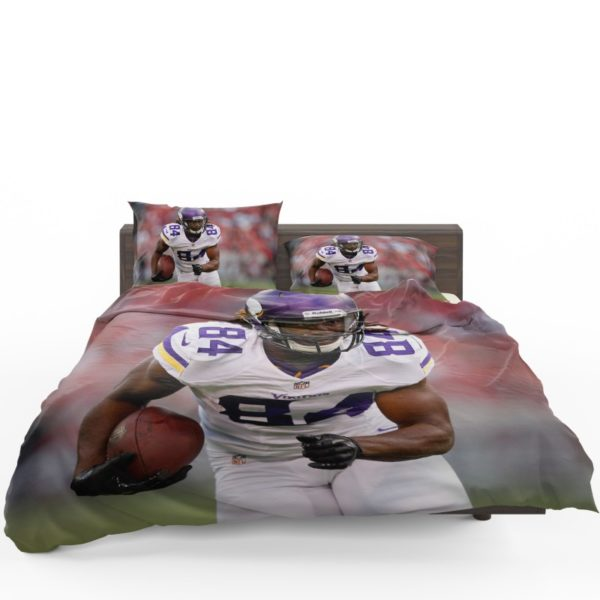 Cordarrelle Patterson NFL Minnesota Vikings Bedding Set1