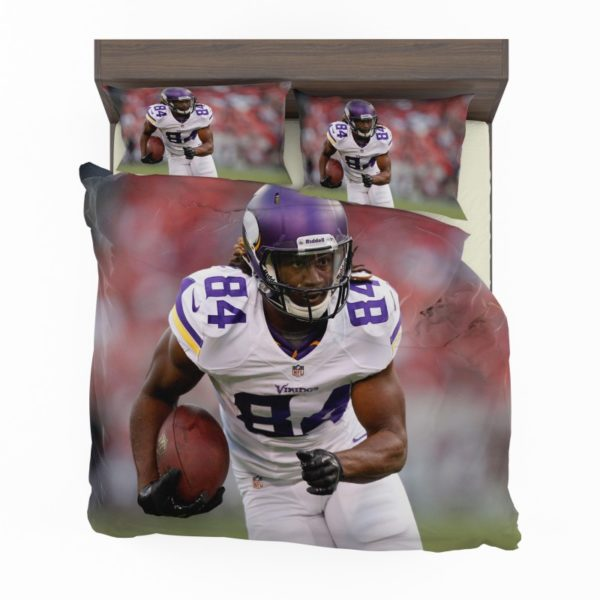 Cordarrelle Patterson Nfl Minnesota Vikings Bedding Set