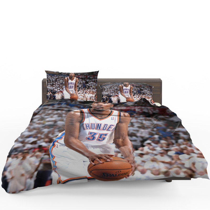 Kevin Durant Basketball Oklahoma City Thunder NBA Bedding Set1