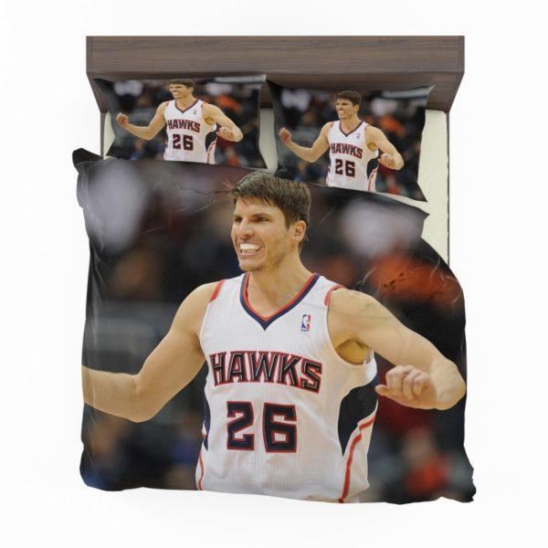 Kyle Korver 2015 Hawks Basketball Nba Bedding Set