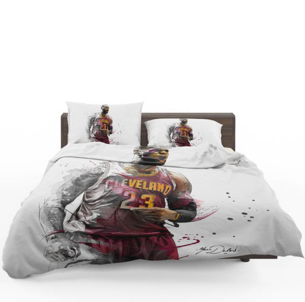 Lebron James Basketball NBA Bedding Set1
