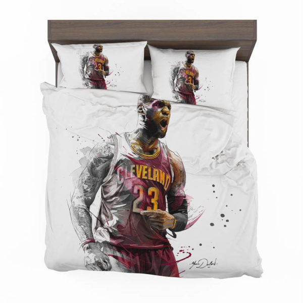 Lebron James Basketball Nba Bedding Set
