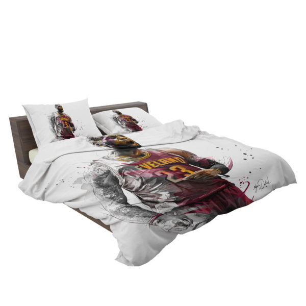 Lebron James Basketball NBA Bedding Set3
