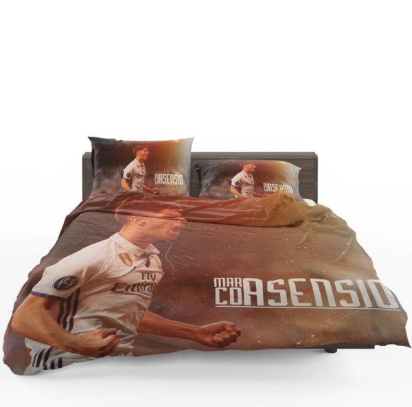 Marco Asensio Read Madrid Spain Footballer Bedding Set1