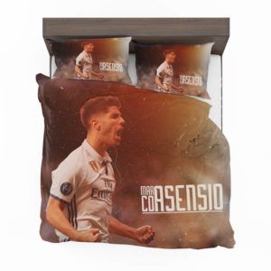 Marco Asensio Read Madrid Spain Footballer Bedding Set