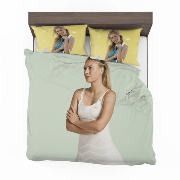 Maria Sharapova Russian Tennis Player Bedding Set