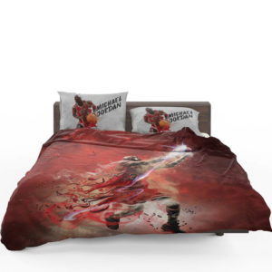 Michael Jordan Nba Basketball Bedding Set