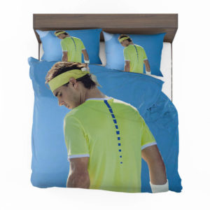Rafael Nadal Wimbledon Tennis Bedding Set