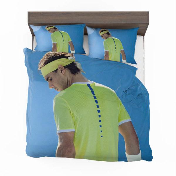 Rafael Nadal Wimbledon Tennis Bedding Set