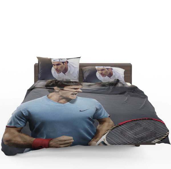 Roger Federer Wimbledon Tennis Bedding Set1 600x593 - Roger Federer Wimbledon Tennis Bedding Set