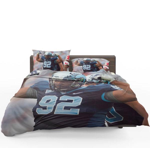 Sylvester Williams North Carolina Detroit Lions NFL Bedding Set1