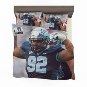 Sylvester Williams North Carolina Detroit Lions Nfl Bedding Set