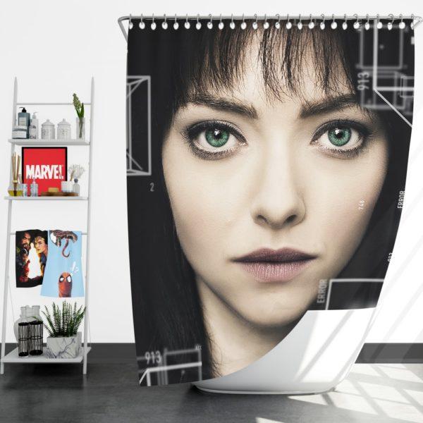 Anon Movie Amanda Seyfried Shower Curtain
