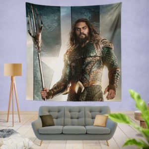 Aquaman Justice League Super Hero Wall Hanging Tapestry