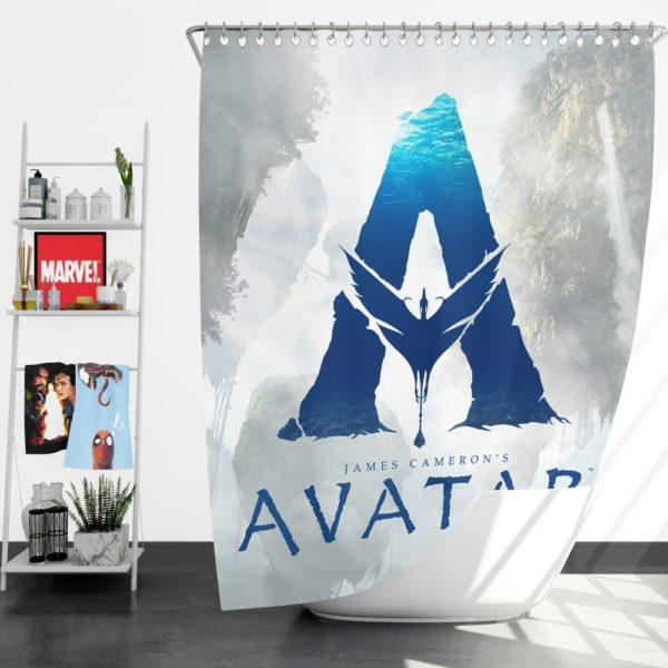 Avatar 2 Movie Shower Curtain