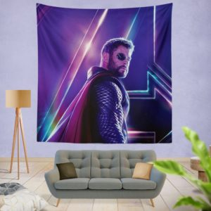 Avengers Infinity War Chris Hemsworth Thor Wall Hanging Tapestry