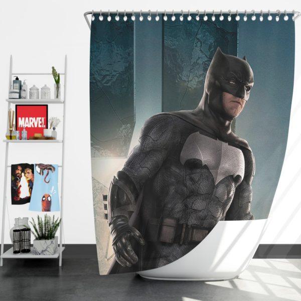 Batman Justice League Shower Curtain