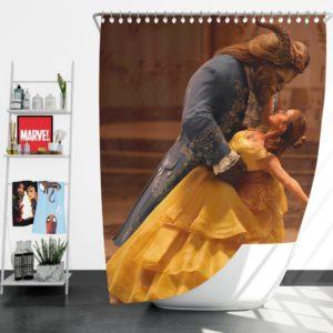 Beauty And The Beast Movie Emma Watson Shower Curtain