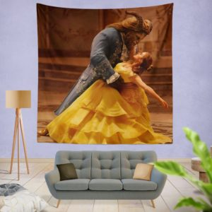 Beauty And The Beast Movie Emma Watson Wall Hanging Tapestry