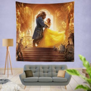 Beauty and the Beast Movie Wall Hanging Tapestry