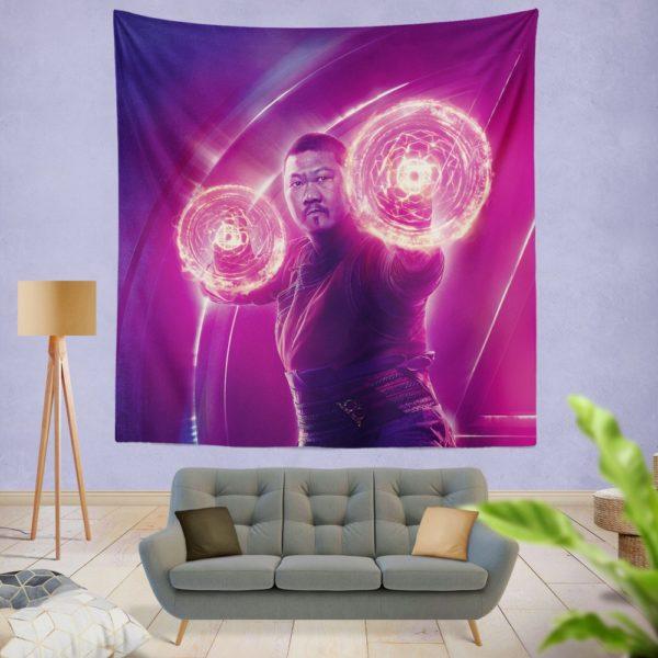 Benedict Wong Wong Avengers Infinity War Wall Hanging Tapestry