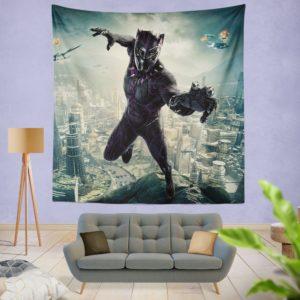 Black Panther Kids Teen Wall Hanging Tapestry