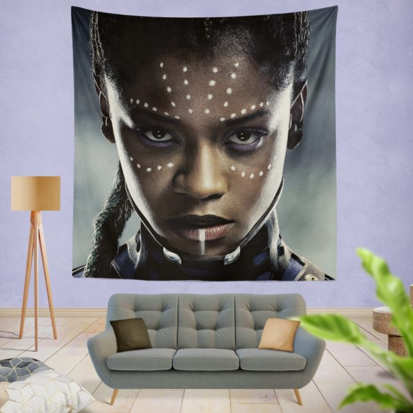 Black Panther Letitia Wright Shuri Wall Hanging Tapestry