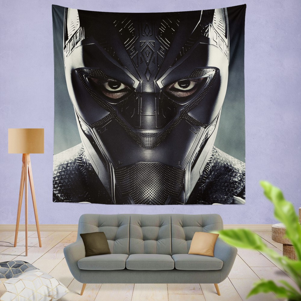 Black Panther Marvel Comics Wall Hanging Tapestry