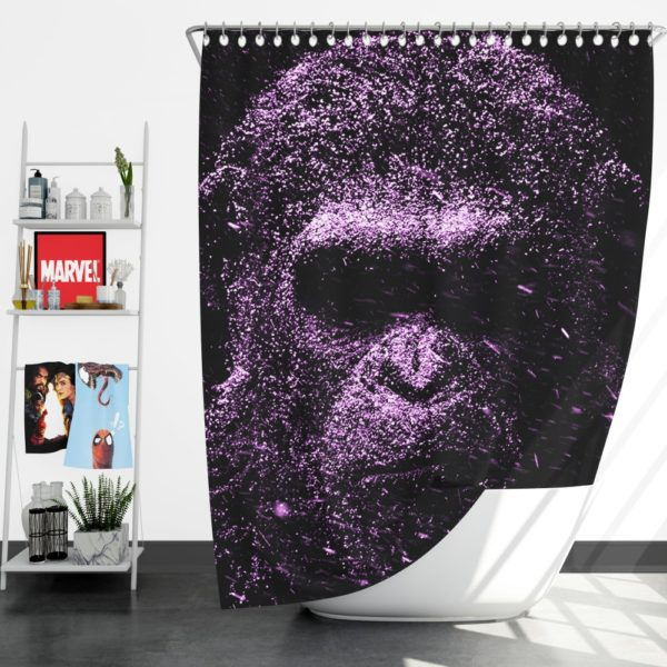 Caesar War For The Planet Of The Apes Shower Curtain