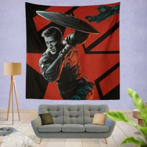 Captain America Chris Evans Marvel Comics Wall Hanging Tapestry