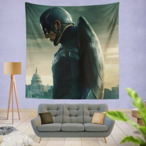 Chris Evans Captain America Wall Hanging Tapestry