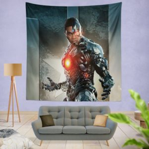 Cyborg Justice League Wall Hanging Tapestry