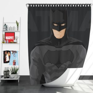 DC Comics Justice League Batman Movie Shower Curtain