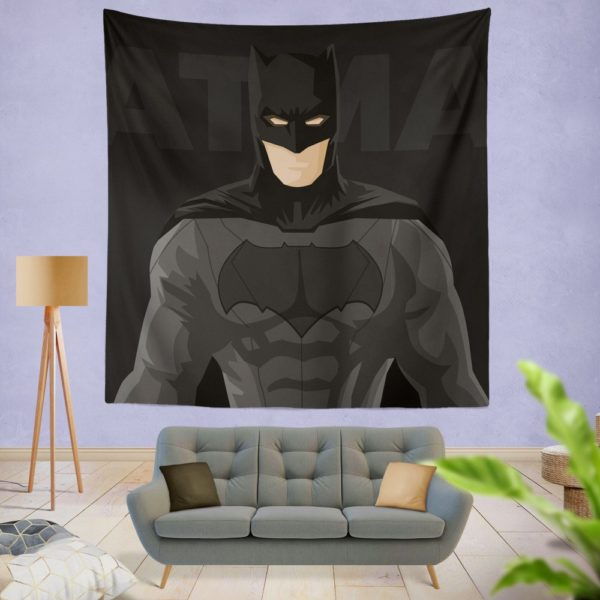 DC Comics Justice League Batman Movie Wall Hanging Tapestry