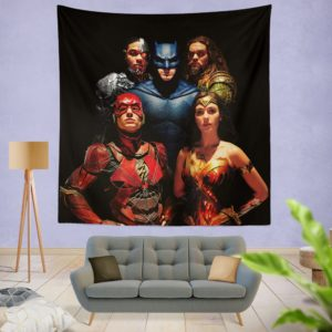 DC Comics Justice League Movie Wall Hanging Tapestry