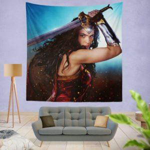 DC Comics Super Heroine Wonder Woman Wall Hanging Tapestry