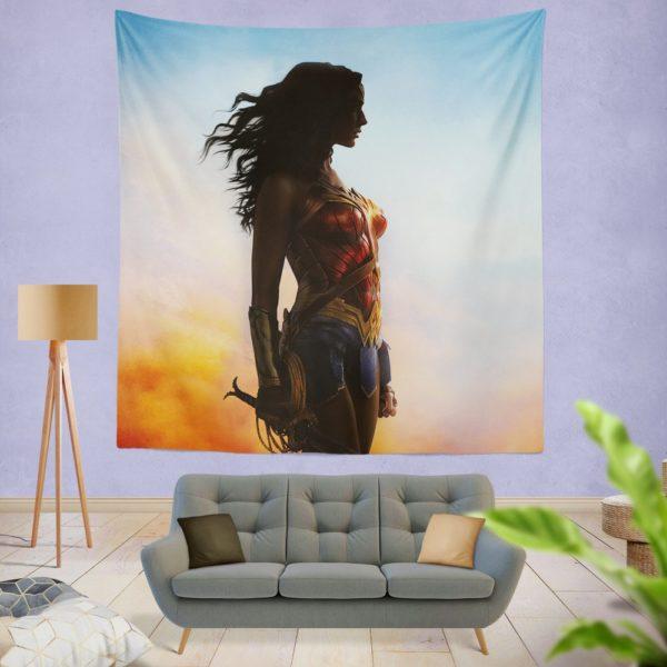 Dc Comics Wonder Woman Movie Wall Hanging Tapestry