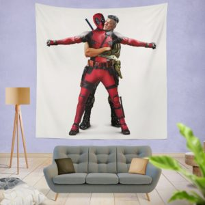 Deadpool 2 Josh Brolin Cable Wall Hanging Tapestry
