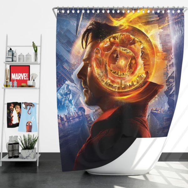Doctor Strange 3 Shower Curtain
