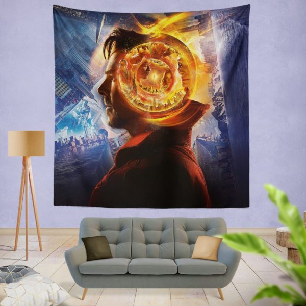Doctor Strange 3 Wall Hanging Tapestry