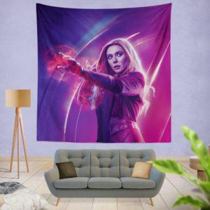 Elizabeth Olsen Wanda Maximoff Avengers Wall Hanging Tapestry