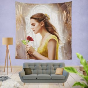 Emma Watson Beauty and the Beast Belle Wall Hanging Tapestry