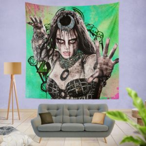 Enchantress Suicide Squad June Moone Wall Hanging Tapestry