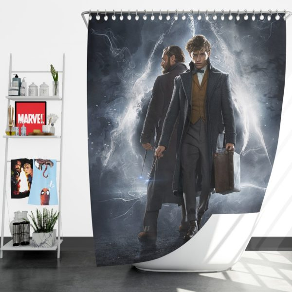 Fantastic Beasts The Crimes of Grindelwald Shower Curtain